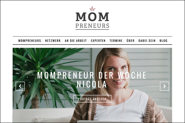 SOULFUL GRAPHIC DESIGN bei den MomPreneurs